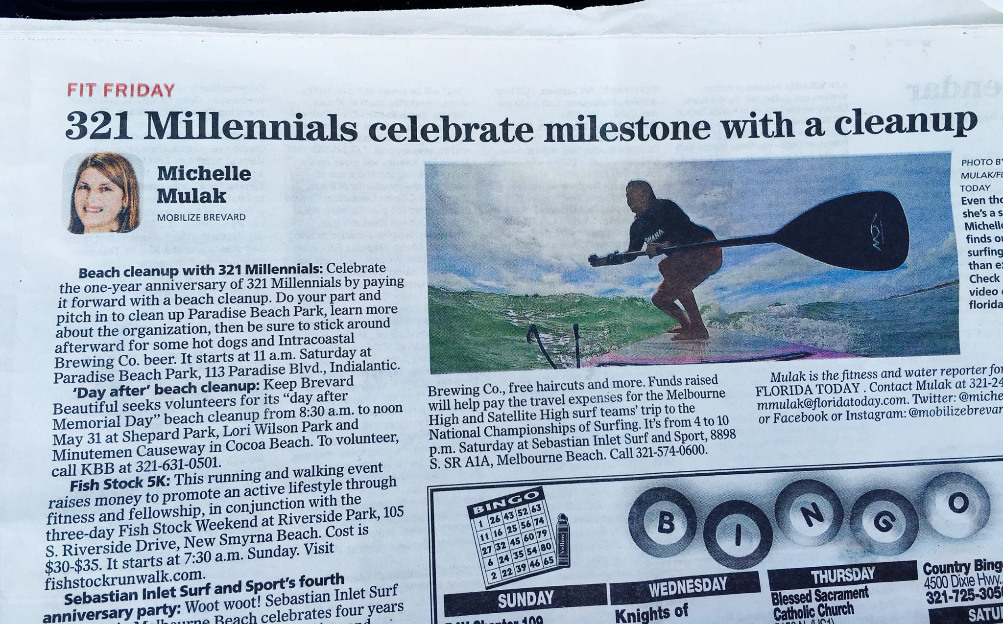 Florida Today covers 321 Millennials